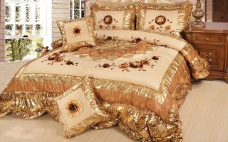 Dada Bedding King Midas Queen King Size Comforter Set Cotton Polyester