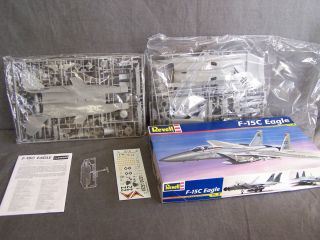 Vintage Revell F 15c Eagle 1 48 Scale Model Military Airplane