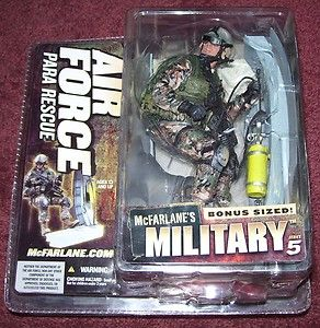 McFarlane Military Series 5 Air Force Rescue Para Rescue
