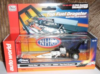 AUTO WORLD 4Gear NHRA Clay Millican Top Fuel Dragster Electric Slot
