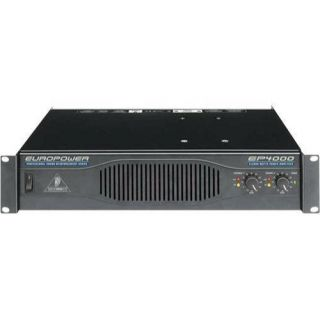 Behringer EuroPower EP4000 2 Channel Power Amplifier