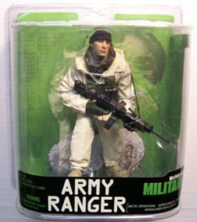 McFarlane Military Series 7 Army Ranger Arctic Ops
