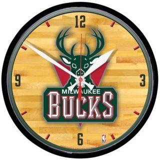 Milwaukee Bucks Round Wall Clock