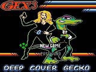 Gex 3 Deep Pocket Gecko Nintendo Game Boy Color, 1999