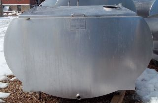 300 Gallon Insulated Stainless Steel Bulk Milk Tank for Storage