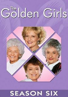 The Golden Girls   The Complete Sixth Season DVD, 2006, 3 Disc Set