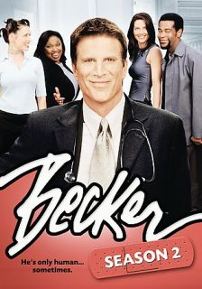 Becker   The Second Season DVD, 2009, 3 Disc Set, Sensormatic