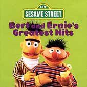Bert Ernies Greatest Hits by Sesame Street CD, Feb 1996, Sony Music