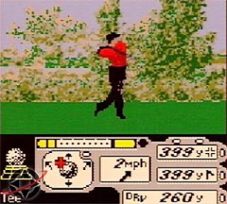 Tiger Woods PGA Tour 2000 Nintendo Game Boy Color, 2000