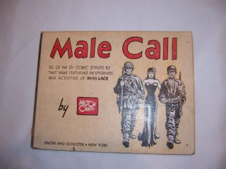 1945 Ed Third Printing of Male Call by Milton Caniff