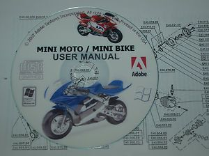 Mini Moto Owners Manual 50cc Minibike Pocket Rocket