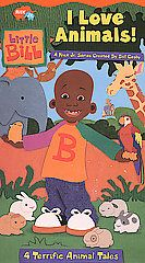 Little Bill   I Love Animals VHS, 2002