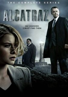 Alcatraz The Complete Series DVD, 2012, 3 Disc Set