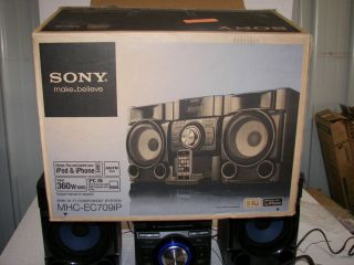 Sony MHC EC709IP Mini Hi Fi Stereo System with iPod Dock and CD Player