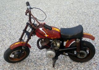 RARE 49 CC Indian Mini Mini Bike Minibike Motorcycle