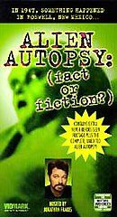 Alien Autopsy Fact or Fiction VHS, 1999, Uncut