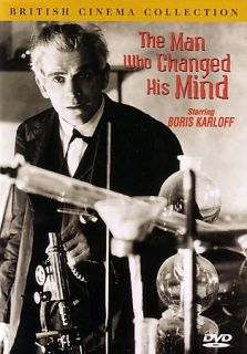 The Man Who Changed His Mind DVD, 2004, British Cinema Collection