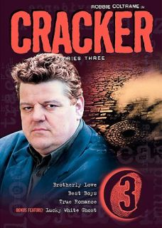 Cracker   Series 3 DVD, 2004, 3 Disc Set