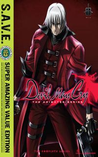 Devil May Cry   Complete Box Set DVD, 2011, 3 Disc Set, S.A.V.E