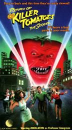 Return of the Killer Tomatoes VHS