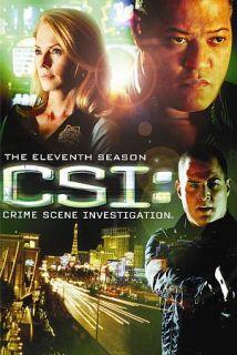 CSI Crime Scene Investigation   The Eleventh Season DVD, 2011