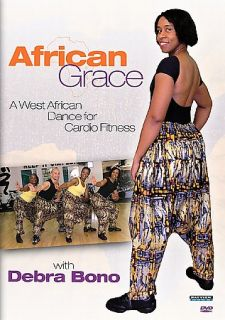 Grace West African Dance for Cardio with Debra Bono DVD, 2005
