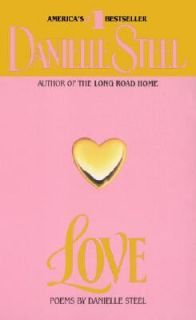Love Poems by Danielle Steel 1989, Paperback
