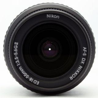 Nikon Zoom Nikkor 18 55mm F 3.5 5.6 AF S DX G ED Lens