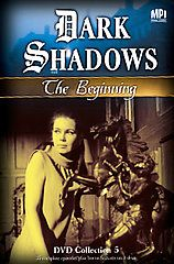Dark Shadows   The Beginning 5 DVD, 2008, 4 Disc Set