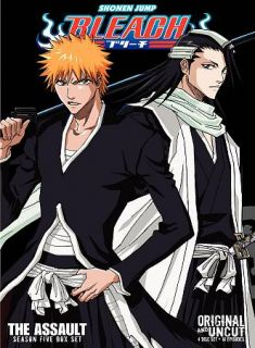Bleach Uncut Box Set Season 5   The Assault DVD, 2010, 4 Disc Set