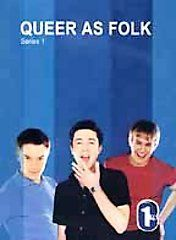 Queer As Folk   British Series DVD, 2001, 2 Disc Set, Two DVD Set