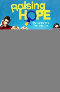 Raising Hope The Complete First Season DVD, 2011, 3 Disc Set