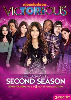 Victorious The Complete Second Season DVD, 2012, 2 Disc Set