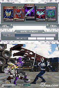 Kamen Rider Dragon Knight Nintendo DS, 2009