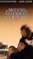 The Bridges of Madison County VHS, 1996