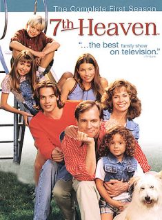 7th Heaven   The Complete First Season DVD, 2004, 6 Disc Set