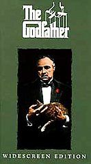 The Godfather VHS, 1997, 2 Tape Set, Widescreen