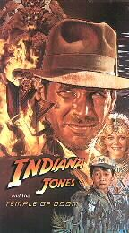 Indiana Jones and the Temple of Doom VHS, 1999, Widescreen