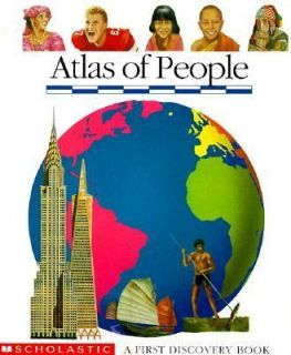 Atlas of People A First Discovery Book by Claude Delafosse, Claude