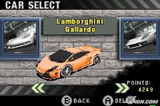 Need for Speed Most Wanted Nintendo Game Boy Advance, 2005