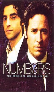 Numb3rs   The Complete Second Season DVD, 2006, 6 Disc Set