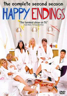 Happy Endings The Complete Second Season DVD, 2012, 2 Disc Set