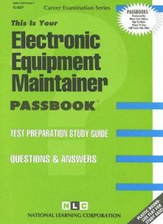 Electronic Equipment Maintainer Test Preparation Study Guide Questions