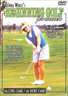 Donna Whites Beginning Golf For Women   2 Pack DVD, 2001