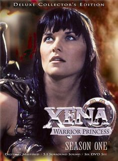 Xena Warrior Princess   Season One DVD, 2003, Best Buy Version