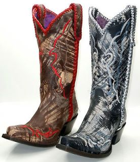 Lucchese since 1883 I4912 & I4913 Womens Western Cowboy Boots Brushed