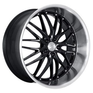18 MRR GT1 BLACK Wheels Rims Fit MERCEDES C CLASS W203 (2000 2007)