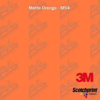 3M 1080 Matte Orange Vinyl Car Wrap Decal Film Sheet 4ft x 5ft(48in x