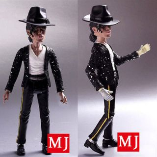 Hot 8 King Of Pop Michael Jackson Doll PVC Statue Figure Toy
