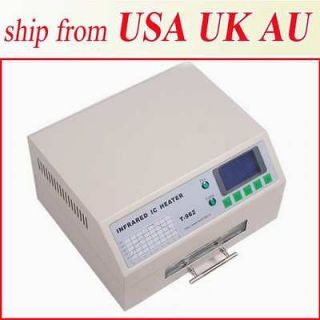 800W INFRARED IC HEATER REFLOW WAVE OVEN BGA SMD DEPENDABLE PERFORMACE